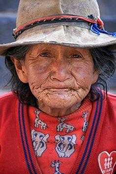Anciana del Peru