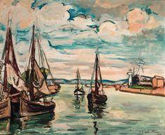 Othon Friesz - Les Barques