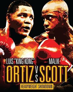 Luis Ortiz is set to make his return to the ring against Malik Scott tomorrow night. Will an impressive win earn King Kong a title shot next? Share your thoughts  #ortizscott #boxing