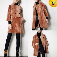 Sheepskin Fur Coat CW650500 www.cwmalls.com