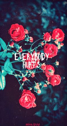 Everybody hurts  ✿