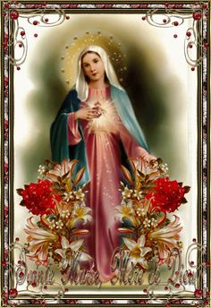 "Memories of a Catholic Wife & Mother: Happy ""Mary"" Month of May Lady Madonna, Madonna And Child, Religious Pictures, Jesus Pictures, Blessed Mother Mary, Blessed Virgin Mary, Catholic Art, Religious Art, Miséricorde Divine"