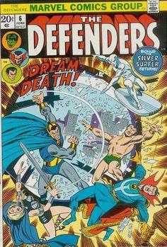 Defenders # 6 by Sal Buscema & John Verpoorten