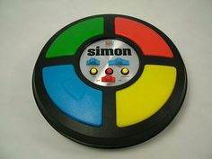 Simon was the best game ever!! Red...blue...yellow...green..green...red...blue...yellow...green...green...blue...