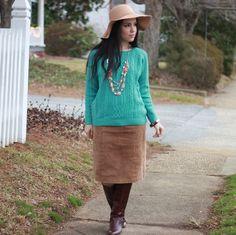Libertad Green: SheIn Blue Sweater