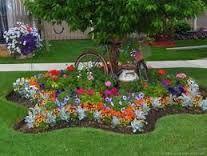 Resultado de imagen de decorar jardines con macetas