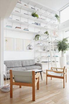 Room of the Week: Pastel Living Room in Cosmopolitan NYC Scandinavian Style, Living Room Scandinavian, Scandinavian Furniture, 60s Furniture, Cheap Furniture, Living Room Furniture, Living Room Decor, Living Rooms, Furniture Stores