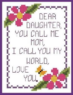 Happy Daughter's Day to my 3 lovelies Amanda, Marisa & Samantha and to a few others that Ive always thought of as my adopted ones. Mother's Day For Daughter, Happy Mothers Day Daughter, Daughter Birthday Cards, Daughter Love Quotes, Daughters Day, Happy Birthday Me, Mothers Day Images, Mothers Day Quotes, Mothers Day Cards