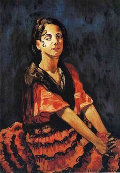 Andalusia, 1941 by Francis Picabia (French 1879-1953)