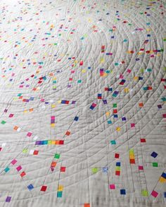 Berene (@happysewlucky) on Instagram: Hundreds and Thousands Quilt looks like confetti