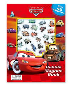 Look at this #zulilyfind! Cars Bubble Magnet Book Set by Disney•Pixar Cars #zulilyfinds