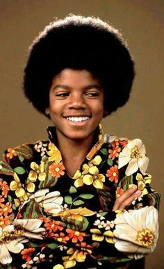 #MichaelJackson There are some pictures of the adult Michael Jackson in which you can still see the child MJJ shining through. But in this picture of the child I can clearly see the adult MJJ. © Author Raynetta Manees