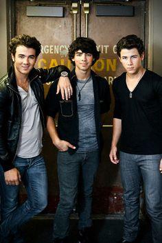 Kevin, Joe, Nick
