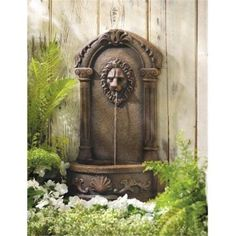 Large-Outdoor-Water-Fountain-Kit-Courtyard-Wall-Fence-Electric-Pump-Garden-Set