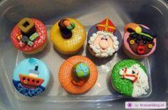 Sinterklaas cupcakes  28