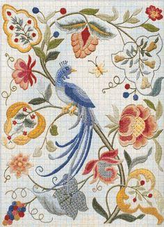 Floral Élégant Elegant Crewel x Stitched Dimensions Dimensions Mini Crewel