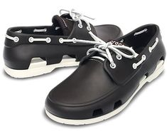 Men's Beach Line Boat Shoe | Men's Loafers | Crocs Official Site