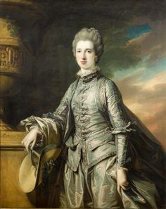 "Francis COTES, ""Retrato de la Honorable Miss Elizabeth Burdett of Bramcott (ob.1807)""; óleo sobre lienzo, 1767. International Portrait Gallery, Spain"