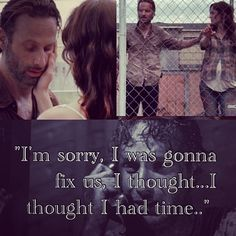 Rick & Lori Grimes....this is a bit sad, even if you hate....