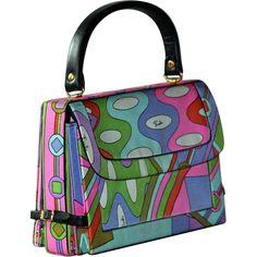 Vintage 1960s Pucci Handbag - Purse Bag