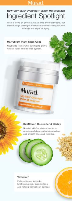 Detoxify and revitalize skin overnight. This breakthrough formula, with super-charged antioxidants from Marrubium Plant Stem Cells, neutralizes pollutants and strengthens skin's barrier while you sleep. Next Generation Vitamin C helps brighten and even tone, while nourishing botanicals plump skin to help visibly reduce fine lines and wrinkles.