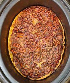 OMG Crockpot Pecan Pie | Flickr - Photo Sharing!