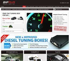 E-commerce site selling diesel tuning boxes.