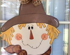 Your place to buy and sell all things handmade Fall Wooden Door Hangers, Wooden Doors, Halloween Wood Crafts, Door Mats, Thanksgiving Wreaths, Happy Fall Y'all, Front Door Decor, Signs, Paper