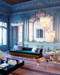 "1,978 Likes, 56 Comments - Christiane Lemieux (@christianelemieux) on Instagram: ""Palazzo Fendi. #Roma @dimorestudio #details #italiandesign . . . . #inspo #inspire #interior…"""