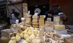Say cheese ... Sicily boasts countless food markets,