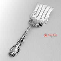 Regent Asparagus Server Durgin 1901 Sterling Silver