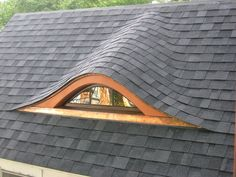 The finished dormer in all its splendor.