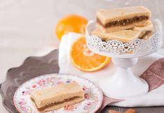 Nuss-Orangen-Schnitten » Kochrezepte von Kochen & Küche Orange, Vanilla Cake, Food Blogs, Desserts, Cake Ideas, Dessert Ideas, Souffle Dish, Play Dough, Oven