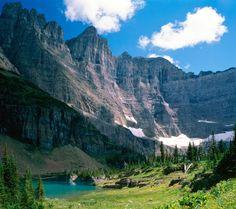 Glacier National Park Montana, Iceburg Lake