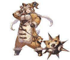Daetta SR from Granblue Fantasy