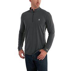 Carharrt FORCE EXTREMES QUARTER ZIP LONG-SLEEVE SHIRT >> Cocona >> http://www.carhartt.com/products/carhartt-men-shirts/Force-Extremes-Quarter-Zip-Long-Sleeve-Shirt-102586