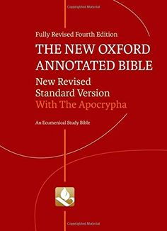 The+New+Oxford+Annotated+Bible+with+Apocrypha:+New+Revised+Standard+Version