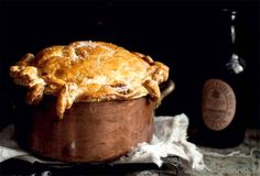 Beef and Guinness Pie. [by Katie Quinn Davies of What Katie Ate via Leite's Culinaria]