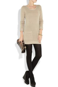 Burberry Brit cashmere sweater dress