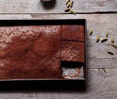 Turkish Coffee Brownies Recipe | Epicurious.com
