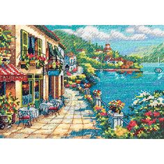 DIMENSIONS-The Gold Collection: Counted Cross Stitch: Petite.  The Gold Collection Kits are wonderfully detailed with full and half cross stitches.  Kit includes: 18 count Aida; cotton thread; color-coded thread sorter; needle and easy instructions.