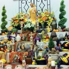 St. Joseph's Altar at St. Joseph's Catholic Church in Shreveport, LA March/2012