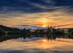 Evening at Velehrad by hruboz
