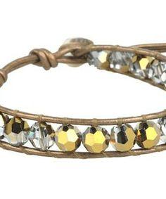 Chan Luu Crystal Black Diamond Single Bracelet On Natural Grey Leather #accessories  #jewelry  #bracelets  https://www.heeyy.com/suggests/chan-luu-crystal-black-diamond-single-bracelet-on-natural-grey-leather-crystal-dorado-kansa/