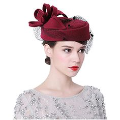 ccb6951c Buy Bridal Top Hat Heart Shaped Flowers Mesh Fascinator Derby Hat Wedding  Party Hat at Wish - Shopping Made Fun
