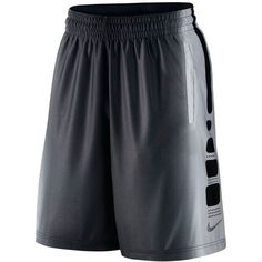 Nike Men's Elite Dri-fit Basketball Shorts ($55) ❤ liked on Polyvore featuring men's fashion, men's clothing, men's activewear, men's activewear shorts and nike