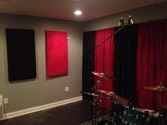 #HowTo make Inexpensive soundproof panels. #DIY #Music Studio