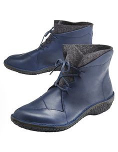 Stiefeletten Elfa von Loints of Holland in blau | Deerberg