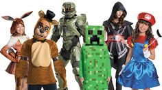 Video Game Family Costumes Video Game Costumes, Family Costumes, Family Games, Tops, Fashion, Moda, Fashion Styles, Fashion Illustrations, Family Outfits