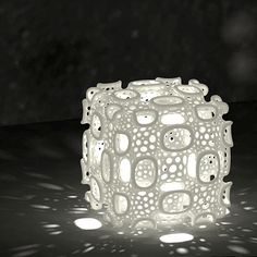 3D printed lamp by Dizingof on ponoko